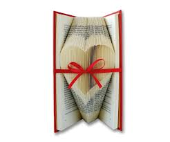 heart shaped writing paper folded book art best most clear tutorial available 3 steps