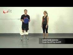 abdominal and core exercises using the 66fit wobble cushion part