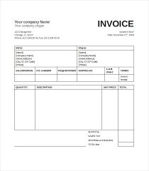 invoice template for word u2013 free basic invoice