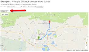 distance between two points map calculating distance maps in asp mvc