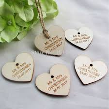 Wedding Gift Tags Aliexpress Com Buy 100 Pcs Personalized Custom Engraved Wedding