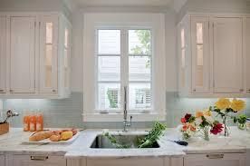 Kitchen Glass Tile - fashionable ideas blue tile backsplash kitchen innovative coastal