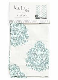Tahari Home Drapes by Amazon Com Nicole Miller Aquarelle Paisley Pair Of Curtains 2