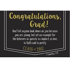 pkg 25 graduation 2017 message cards congratulations grad 1