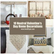 s day decorations for home 10 neutral s day home decorations