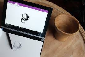 pens that write on black paper lenovo yoga book review unique touch features let you be hands on writing and drawing naturally