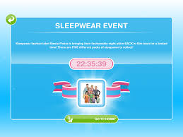 missy u0027s sims and stuff the sims freeplay sleepwear event guide