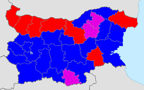 Early Election Results Map by Bulgaria Elections With All Votes Counted Gerb 32 65 Bsp 27 2