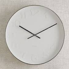 wall clock modern modern kitchen wall clocks foter