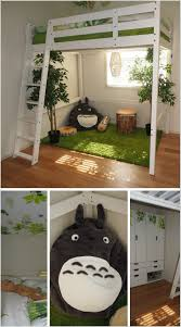 Totoro Home Decor by Creative Forest Themed Kids Bedroom And Nursery Decor Ideas Kids