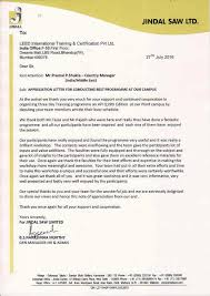 thanksgiving letter to clients clients testimonials leed international training and