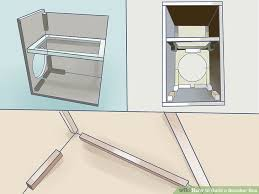 How To Build A Cabinet Base How To Build A Speaker Box 12 Steps With Pictures Wikihow