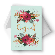greetings for a wedding card 11 free printable wedding cards that say congrats