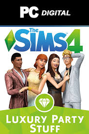 party stuff the cheapest the sims 4 luxury party stuff pc dlc in usa