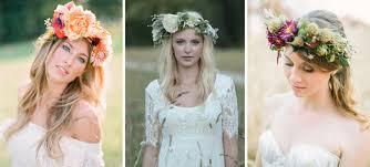 brideology flowers as bridal headpieces