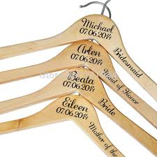 personalized wedding hangers aliexpress buy personalized wedding hangers decals custom