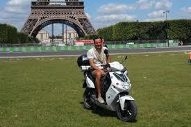 vianney bureau completes electric scooter tour evworld com