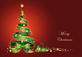 download merry christmas tree vector wallpaper in 3000x2110 resolution