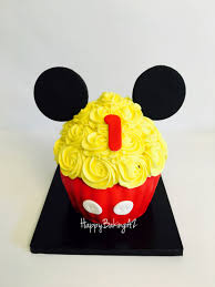 wonderful ideas mickey mouse smash cake and aesthetic giant