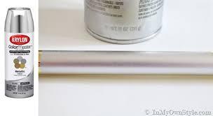 Krylon Textured Spray Paint - spray painting metal hardware brass to nickel in my own style