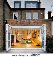contrasting older english architecture with modern day interior