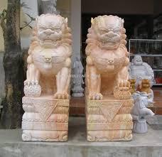 fu dog statues marble foo dog statue carvings ngochoa250