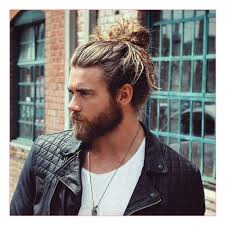 man bun short sides new haircut along with man bun with long hair and beard all in men