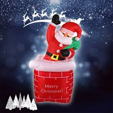 Outdoor Inflatable Christmas Decorations Ireland online get cheap outdoor santa inflatable aliexpress com