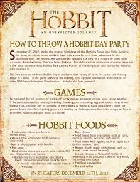 hobbit party we are movie geeks
