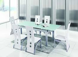 Tempered Glass Dining Table Extendable Glass Dining Table Freedom To
