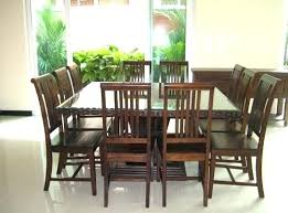 Patio Table Seats 8 Square Outdoor Dining Table Seats 8 Seater Oak Room Dimensions