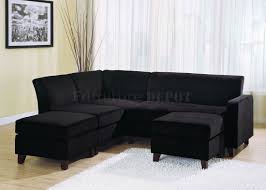 furniture grey microfiber couch with brown microfiber couch
