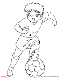 coloriages pour garçon le football