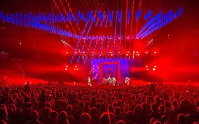 Chili Lights Premier Global Production Supplies Red Chili Peppers Tour With