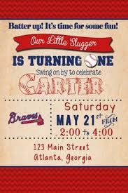 printable baseball ticket birthday photo invitation all star