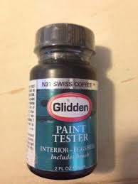 glidden int paint tester swiss coffee n31 2 fl oz new in
