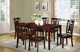 dining table w 6 chairs bella furniture and mattress