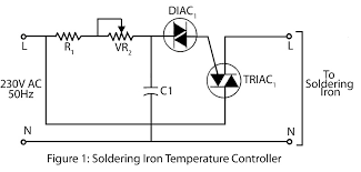 soldering iron temperature controller u2013 electronics project