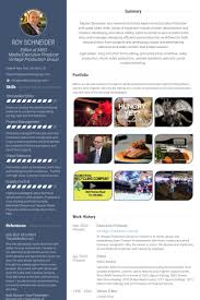 Award Winning Resume Examples by Executive Producer Resume Samples Visualcv Resume Samples Database