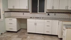 Kitchen Backsplashes 2014 Magnificent Kitchen Backsplash Subway Tile With Accent Kitchen