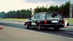 volvo wagon 1000 hp drag volvo station wagon youtube