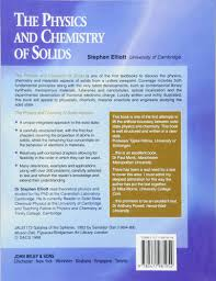 buy the physics and chemistry of solids book online at low prices