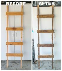 diy quilt ladder quilt ladder craft and woodworking