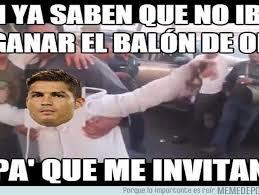 Memes De Cristiano Ronaldo - balón de oro cristiano ronaldo fue vacilado en los memes tras no