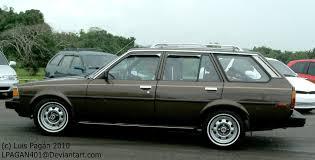 toyota corolla 83 brown 83 toyota corolla wagon by mister lou on deviantart