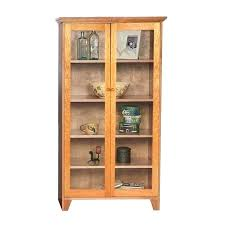 Glass Bookcases With Doors Bookcase With Glass Doors And Drawers White Bookcase With Door