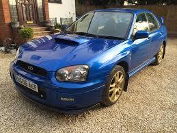 2005 subaru impreza wrx turbo blue modified in high wycombe