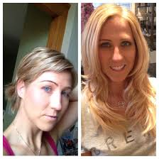 Allure Hair Extensions by Short Pixie Hair Cut Transformed In Beautiful Long Hair
