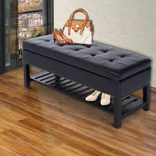 entryway shoe storage solutions ottomans storage bench with cushion entryway shoe storage ideas