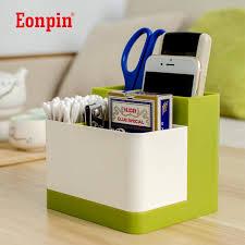 Plastic Desk Organizer Eonpin 4 Layers Plastic Pen Pencils Holder Remote Box